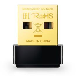 TP-Link Archer T2U Nano AC600 Dual-Band USB 2.0 adapter
