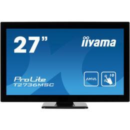 "27"" iiyama MultiTouch Projective T2736MSC-B1 D-Sub/HDMI/DP"