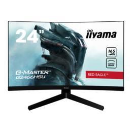 "23,6"" iiyama G-Master G2466HSU-B1 Curved 165Hz HDMI/DP spks"