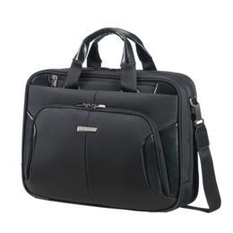 """Samsonite XBR Bailhandle 2 15,6"""" laptoptas zwart"""