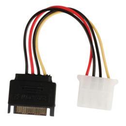 Valueline Interne adapterkabel SATA naar Molex M/F