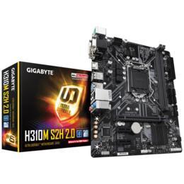 Gigabyte H310M S2H 2.0, DDR4, M.2, HDMI, PCI-E, Soc 1151