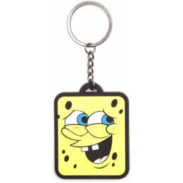 Difuzed Spongebob Smiling sleutelhanger rubber