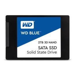"""WD Blue 3D Nand 4TB SSD 2,5"""" WDS400T2B0A"""