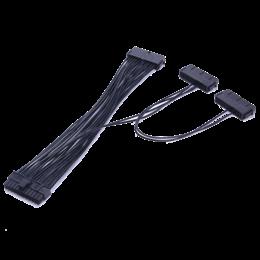 Voedingskabel 20+4-pin naar 3x 24-pin voor extra PSU's 30cm