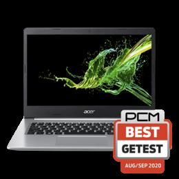 """Acer A514-53-59CY zilver 14""""/i5-1035G1/8GB/512SSD/HD620/W10"""