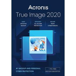 Acronis True Image 2020 voor 3-PC/MAC (Download)
