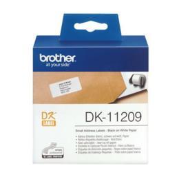 Brother DK-11209 adreslabel klein 62x29mm wit