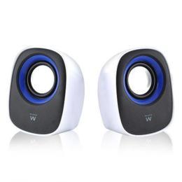 Ewent EW3513 2.0 USB speakers wit/blauw