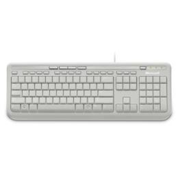 Microsoft Wired 600 toetsenbord USB wit