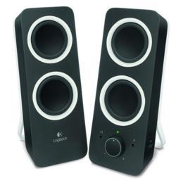 Logitech Z200 2.0 speakers zwart