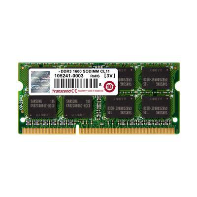Transcend 2GB DDR3-1600 Sodimm TS256MSK64V6N