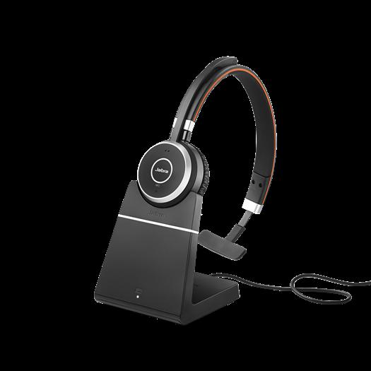 Jabra Evolve 65 UC Mono incl. Oplaadhouder