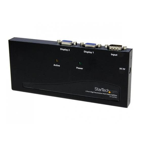 StarTech 2-poorts VGA Video splitter/versterker