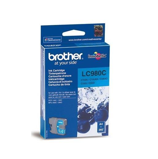 Image of Brother Cartridge Cyan Lc980C
