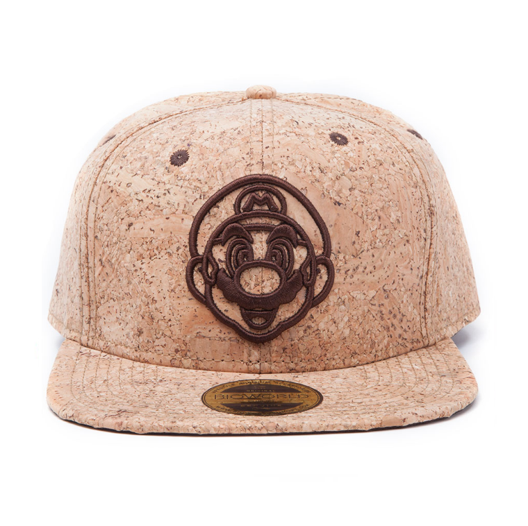 Image of Bioworld Mario Cork Snapback