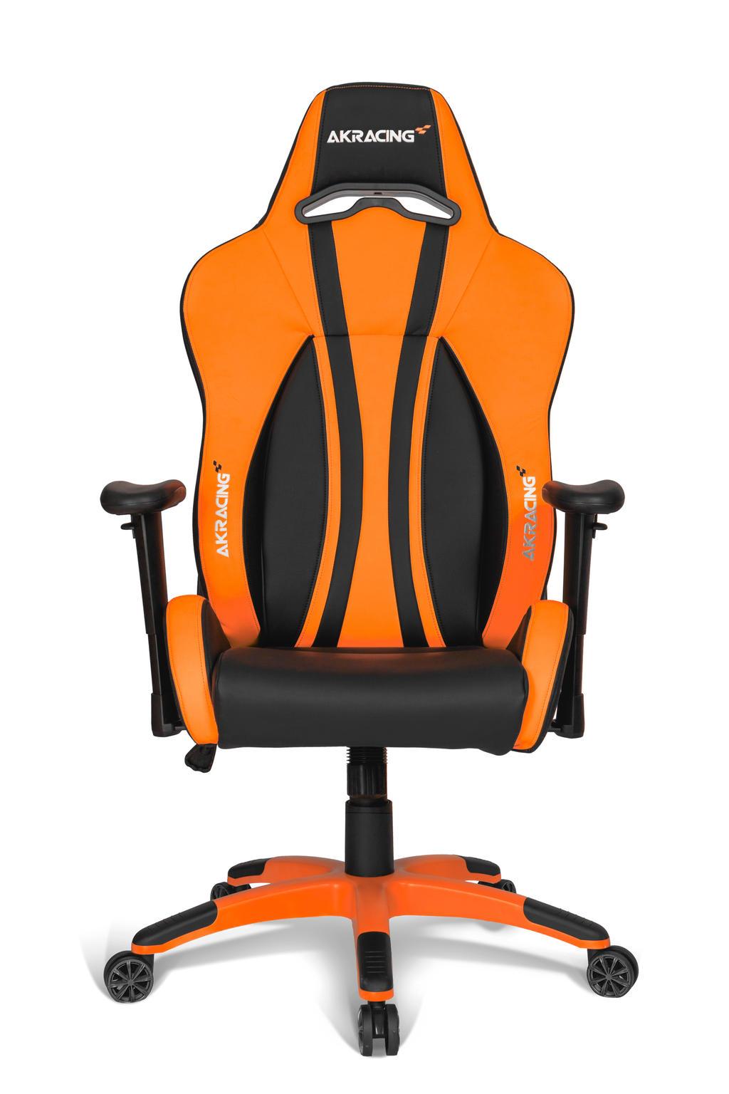 AKRacing Premium Plus gamestoel oranje