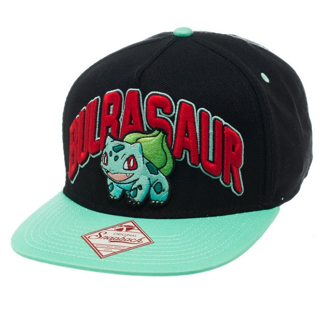 Image of Bioworld Pokemon Bulbasaur Snapback