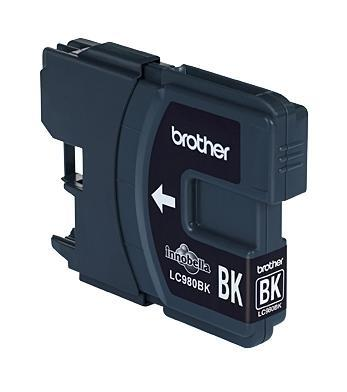Image of Brother Cartridge Black Lc980Bk