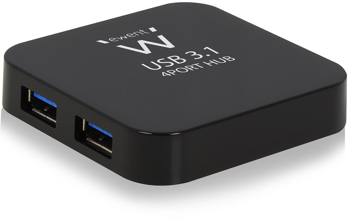Ewent EW1134 actieve 4 poorts USB 3.0 hub