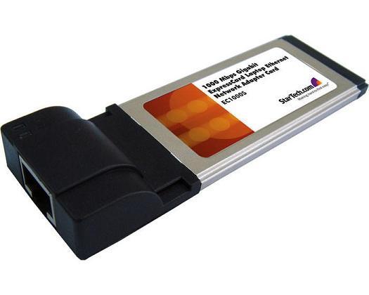 StarTech 1-poort Gigabit LAN expressCard