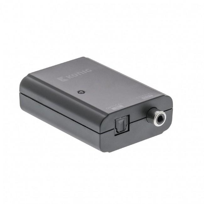 Konig audio converter Toslink naar S/PDIF
