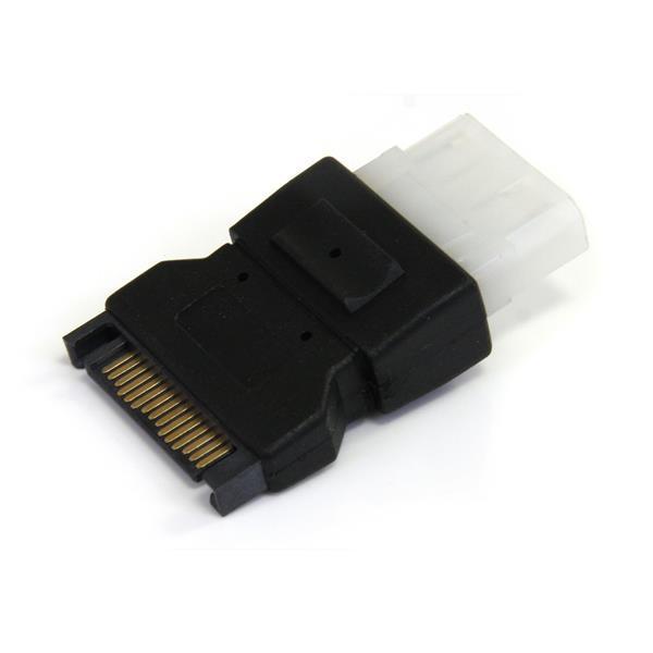 StarTech SATA (15-pins) naar Molex (4-pins)