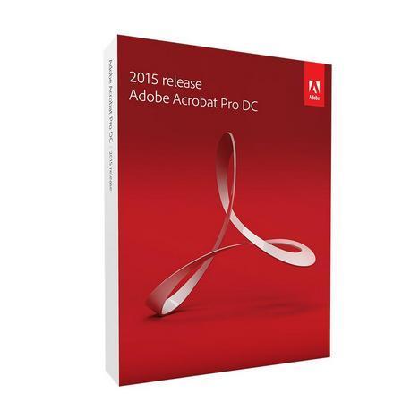 Image of Adobe Acrobat Pro DC 2015 Upgrade NL