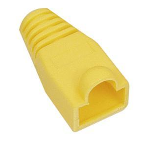 RJ45 knikbescherming geel