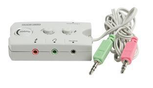 Konig Audioswitch voor speaker en headset