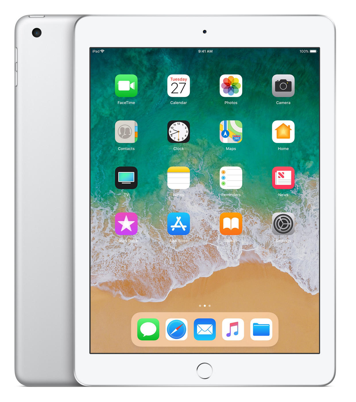 Apple iPad 128GB (2018) zilver