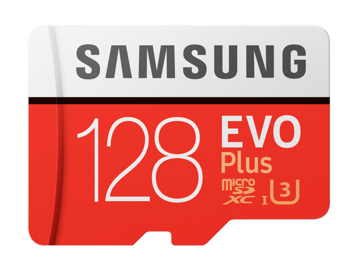 Samsung Evo Plus 128GB microSD
