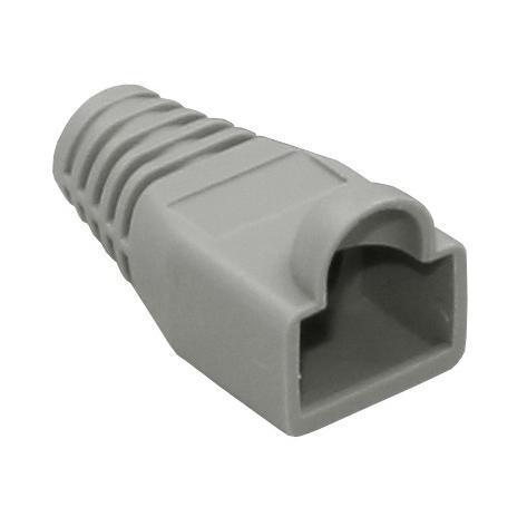 donker grijze UTP connector huls
