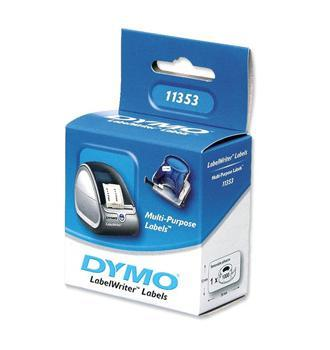 Dymo verwijderbare multifunctional label 25x13mm