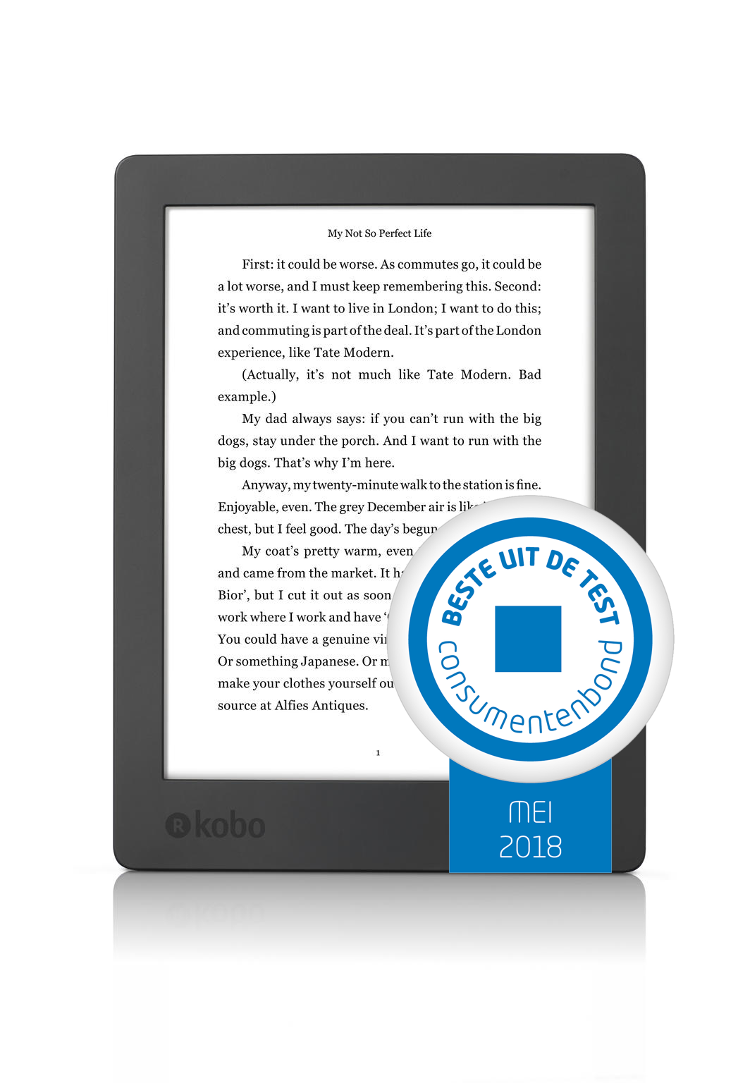 Kobo New Aura H2O e-Reader