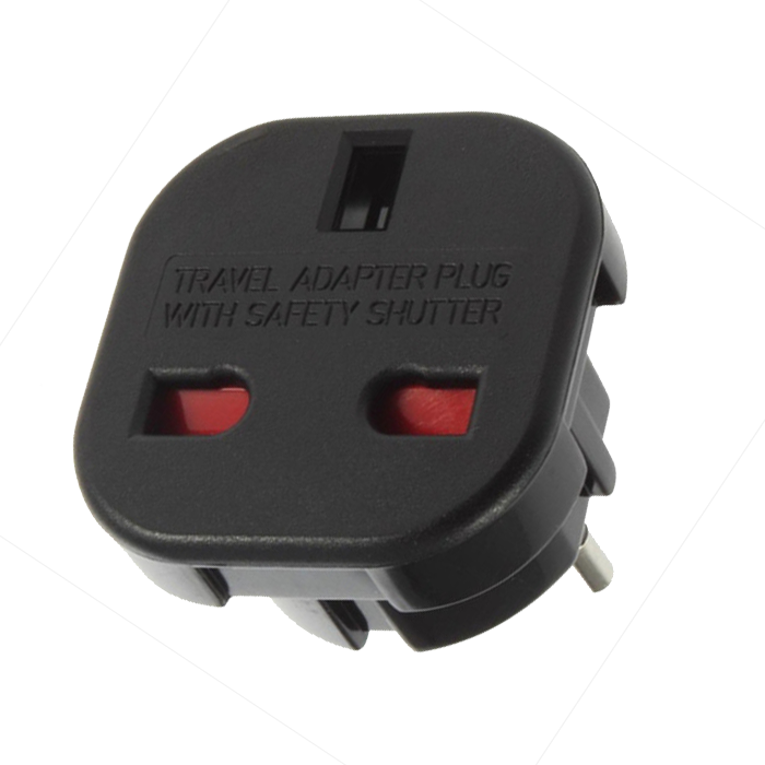 Adapter 110/240V - UK Plug naar EU