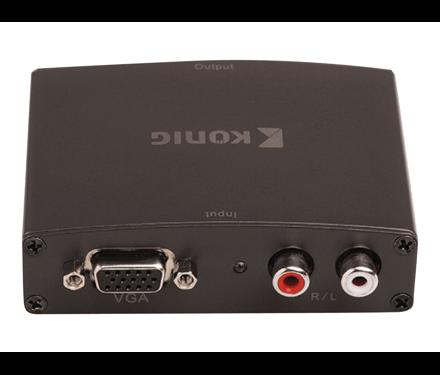 Konig VGA naar HDMI omvormer