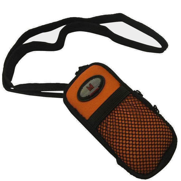 MP3 sportarmband zwart/oranje