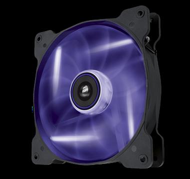 Corsair AF140 LED Quiet edition paars