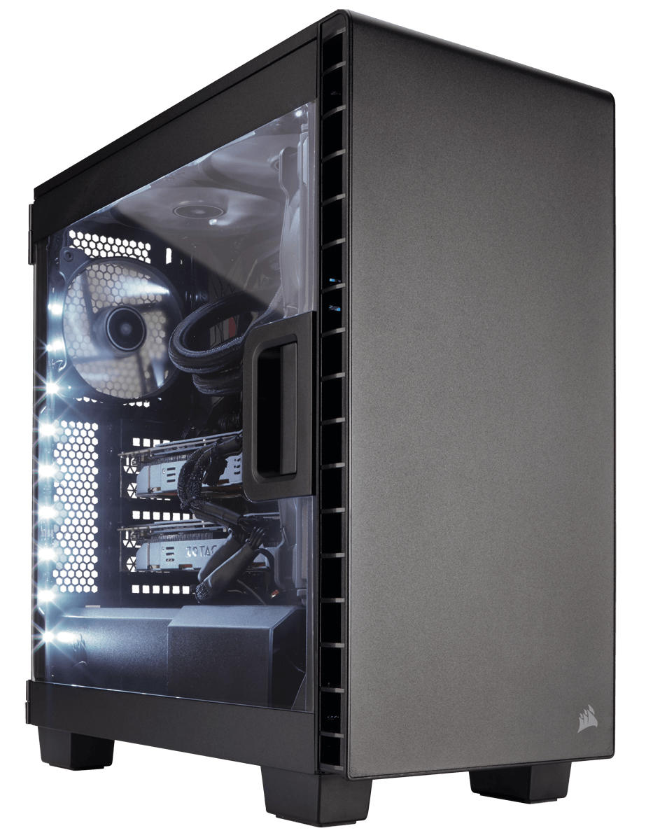 Corsair Carbide clear 400C zwart