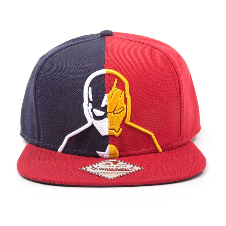 Image of Bioworld Captain America vs Iron Man snapback