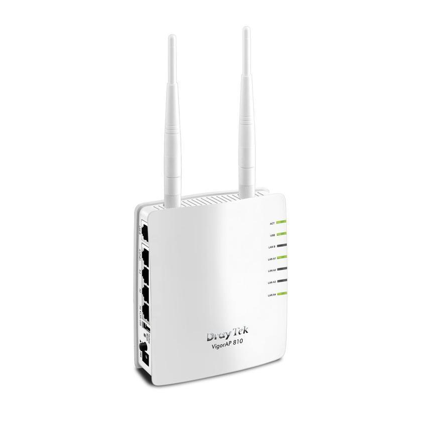 DrayTek VigorAP 810 Wireless Access Point 5x LAN (1x PoE)
