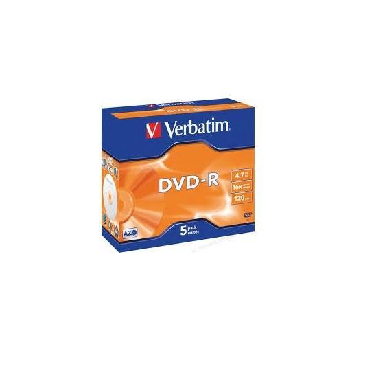 Verbatim DVD-R 5 stuks
