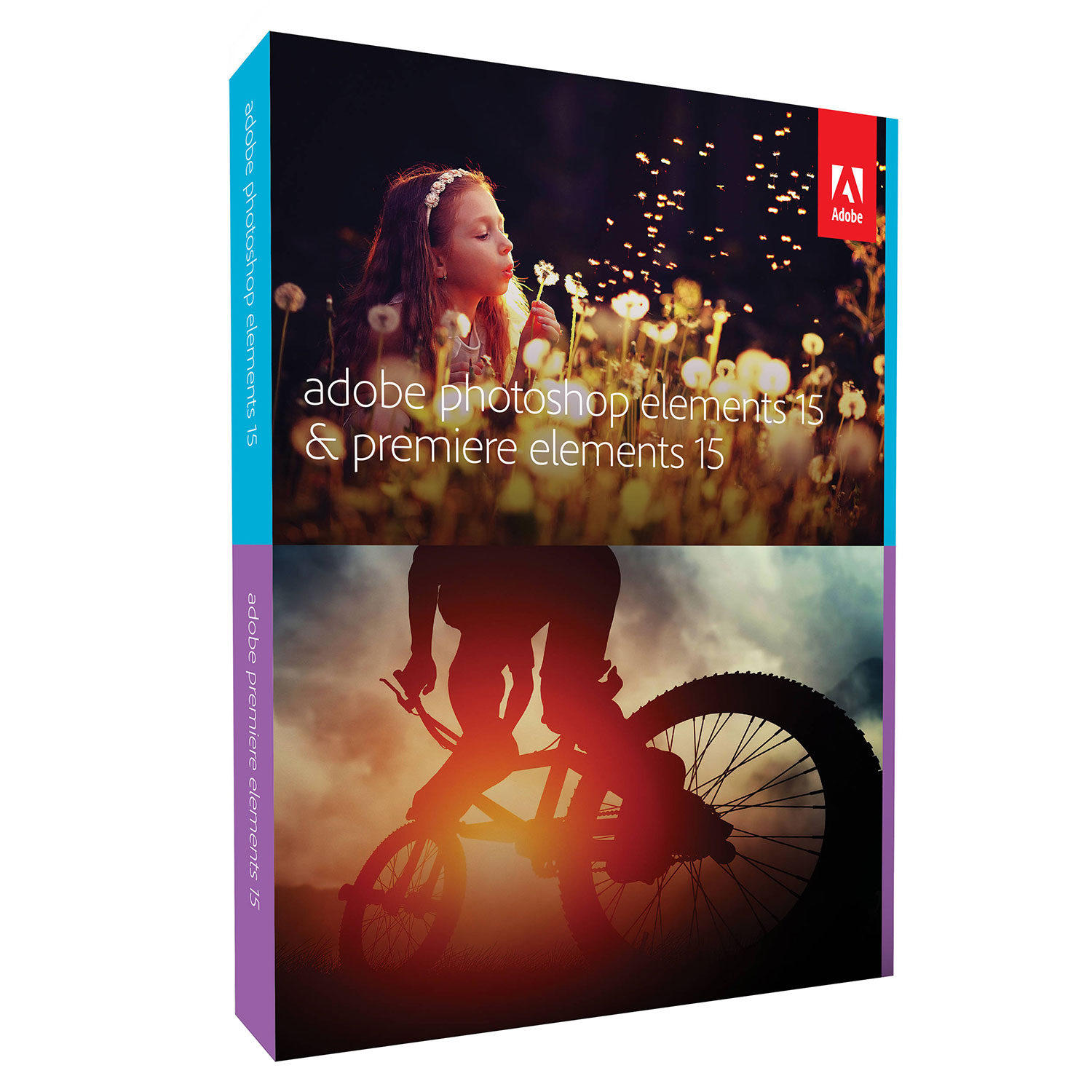 Image of Adobe Photoshop & Premiere Elements 15