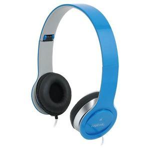 LogiLink High Quality koptelefoon blauw