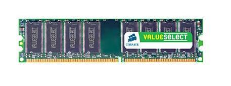 Corsair ValueSelect 1GB DDR-400