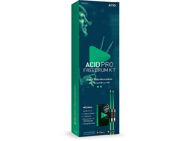 Magix ACID Pro 8 Freedrum Kit