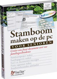 Visual Steps Stamboom maken op de pc senior