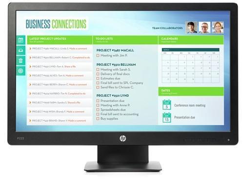 HP ProDisplay P223 monitor