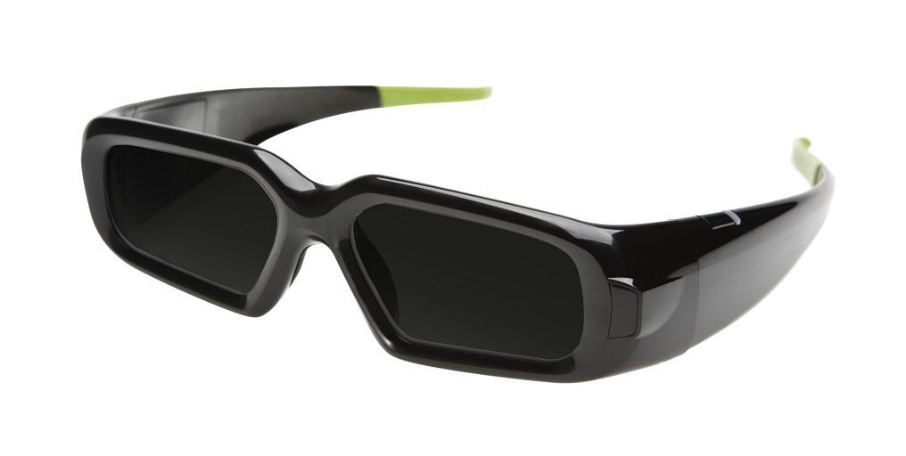 Nvidia 3D Vision Spare Glasses (3D bril) No Reciever